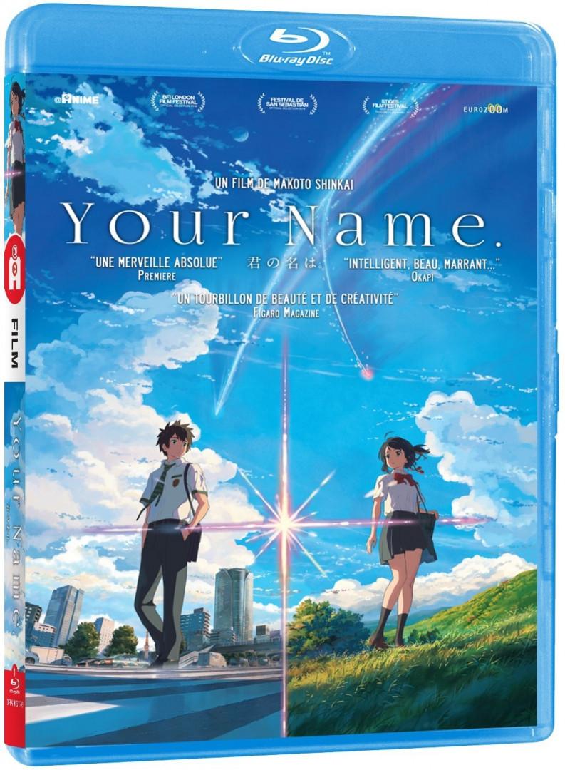 """Le film d'animation phénomène de l'année """"Your Name"""" (22€)"""