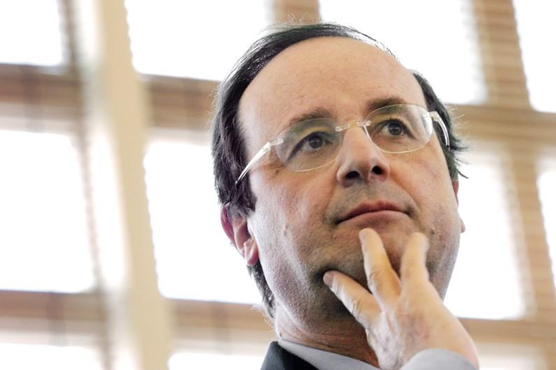 François Hollande, premier secrétaire du PS, en 2007