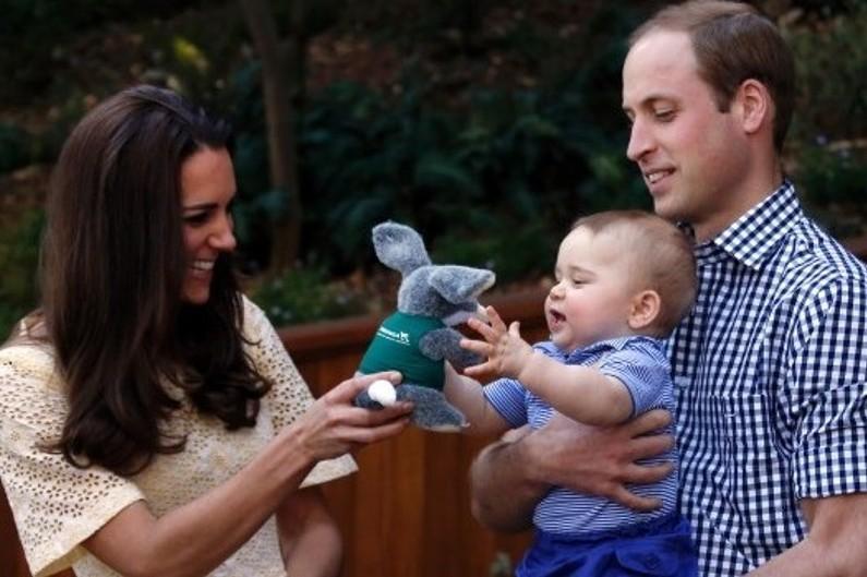 Fin avril 2014, la famille royale s'est rendue au Zoo de Taronga pour notamment admirer des Bandicoot lapins