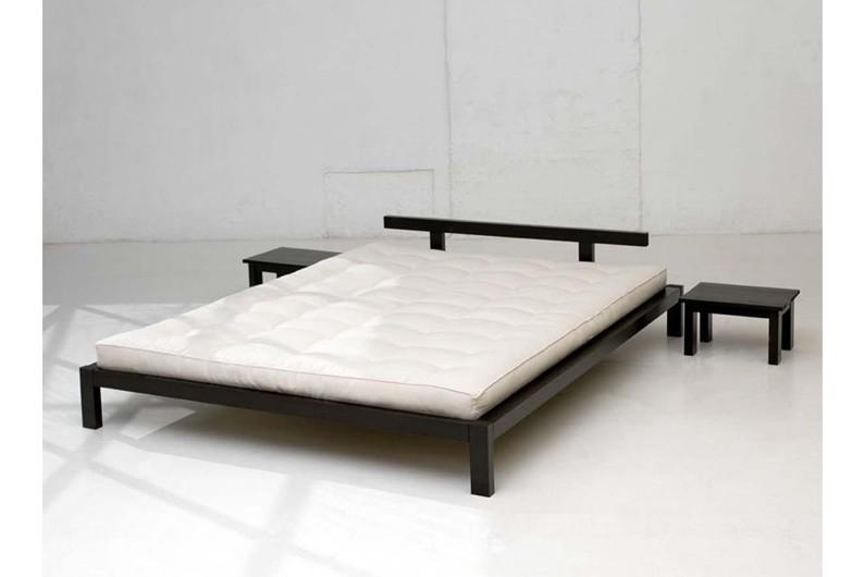 Lit futon japonais et tables de nuit Mojo, La Redoute