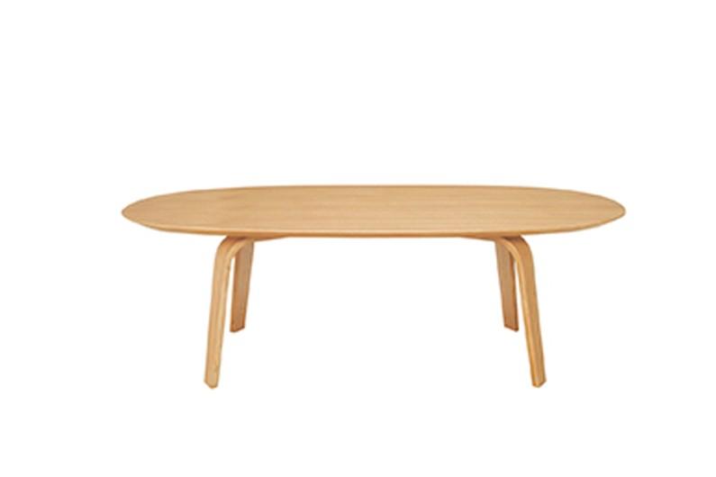 Table basse ovale frene, Muji