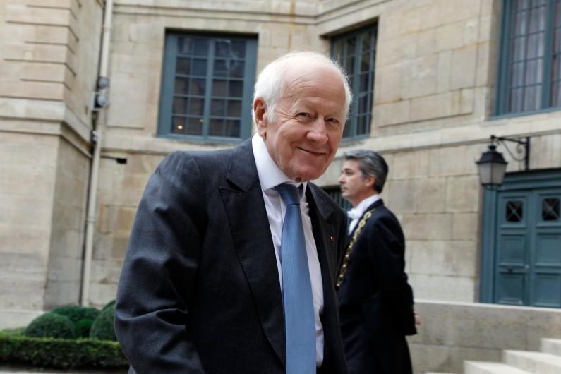 Jacques Chancel à Paris le 12 octobre 2011