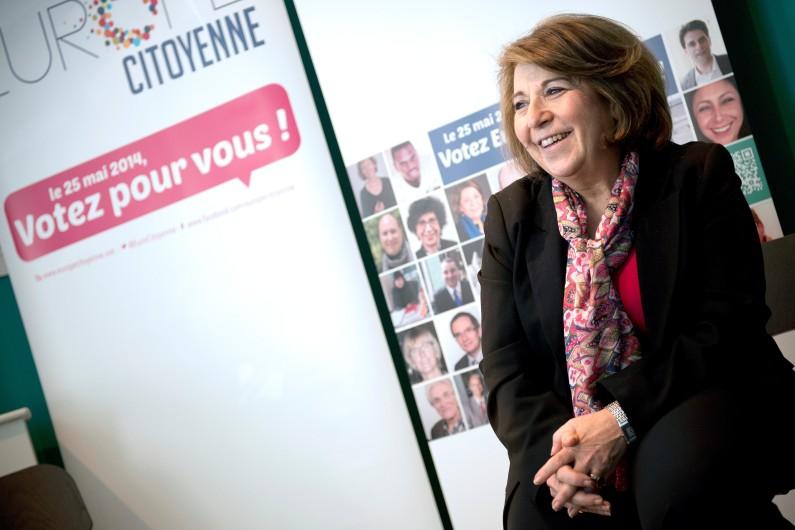 L'ancienne ministre de l'Environnement, Corinne Lepage, le 10 avril 2014 (photo d'Archives).