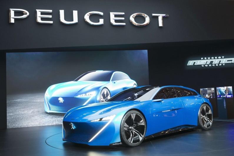 """La Peugeot Instinct est consacrée dans la catégorie """"Meilleur concept car"""""""