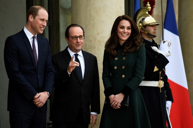 Le prince William et Kate Middleton sont en visite officielle à Paris