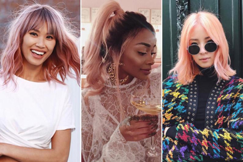 """Allez-vous succomber à la tendance du """"rose millennial"""" pour vos cheveux ?"""