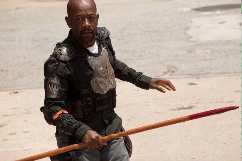 Morgan et sa lance mortelle se prépare à la bataille