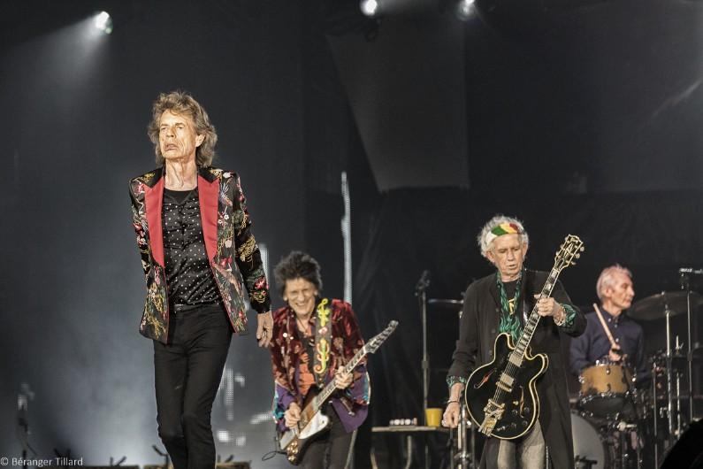 Le groupe de rock britannique sur la scène de la U Arena à Nanterre le 19 octobre 2017.