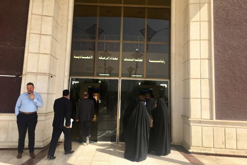 La cour criminelle de Bagdad a rendu son délibéré en sept minutes.