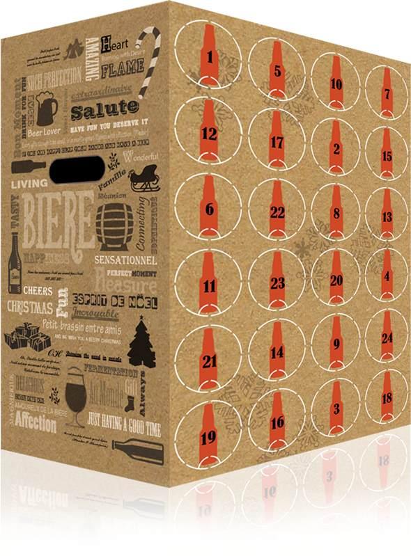 Calendrier de l'avent Beery Christmas (bière)