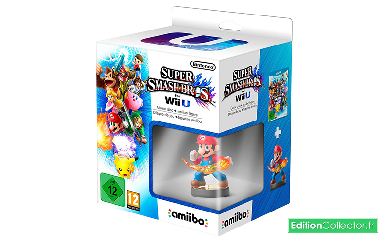 "Un pack ""Super Smash Bros."" pour WiiU sur Amazon"
