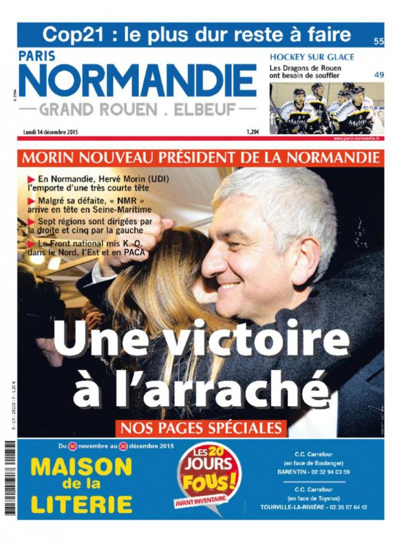 Les résultats en Normandie ont été très serrés avec seulement 0,35% d'écart