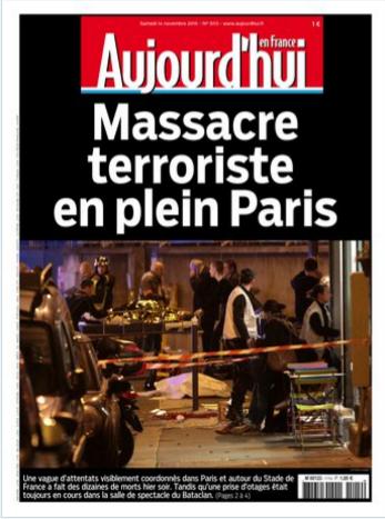 """""""Aujourd'hui en France"""" évoque les massacres"""