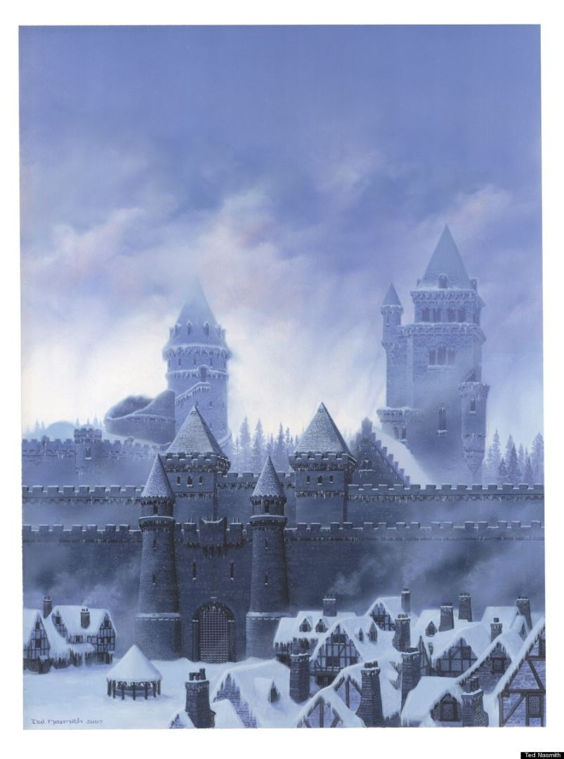 Ted Nasmith a imaginé Winterfell