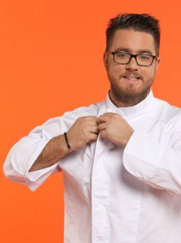 """Carl Dutting, 30 ans, gagnant d'""""Objectif Top Chef 2016"""", commis de """"L'intemporelle"""", semi-gastronomique, La Roquette-sur-Siagne (06)"""