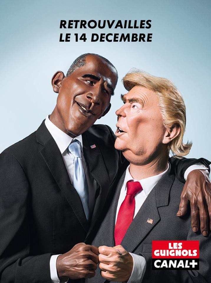 Donald Trump, candidat à la présidentielle américaine, devrait faire son apparition dans les Guignols.