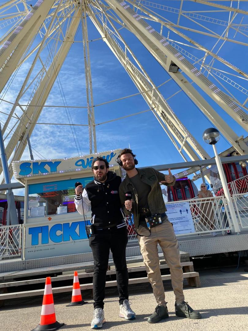 Elliot et Keen'V lors de la dernière de la saison à Berck-sur-Mer