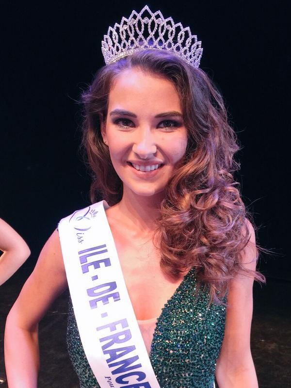 Fanny Harcaut, est Miss Île-de-France. Elle a 18 ans et mesure 1,75 m