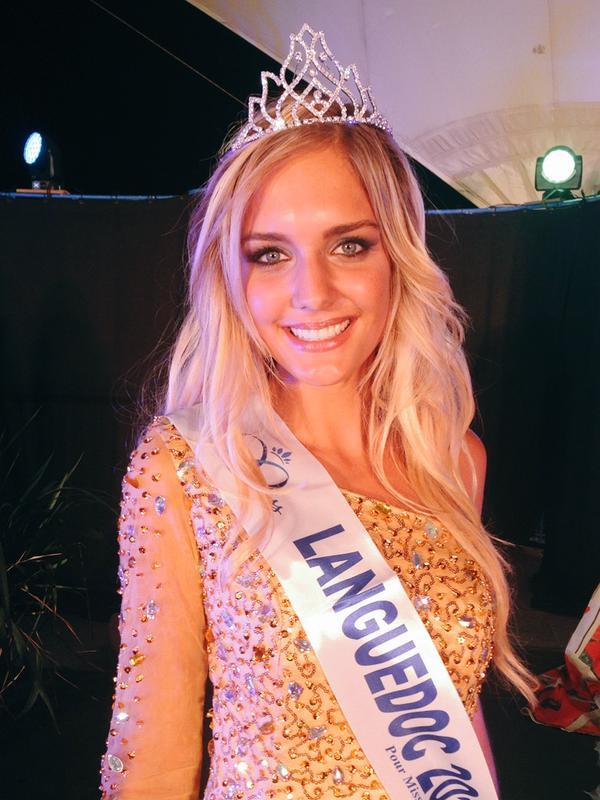 Miss Languedoc., Lena Stachurski, jolie blonde de 20 ans