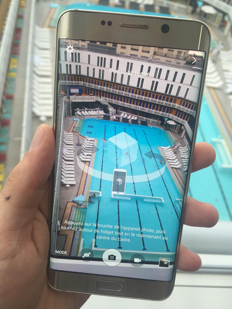 L'appareil photo du Galaxy S6 Edge+
