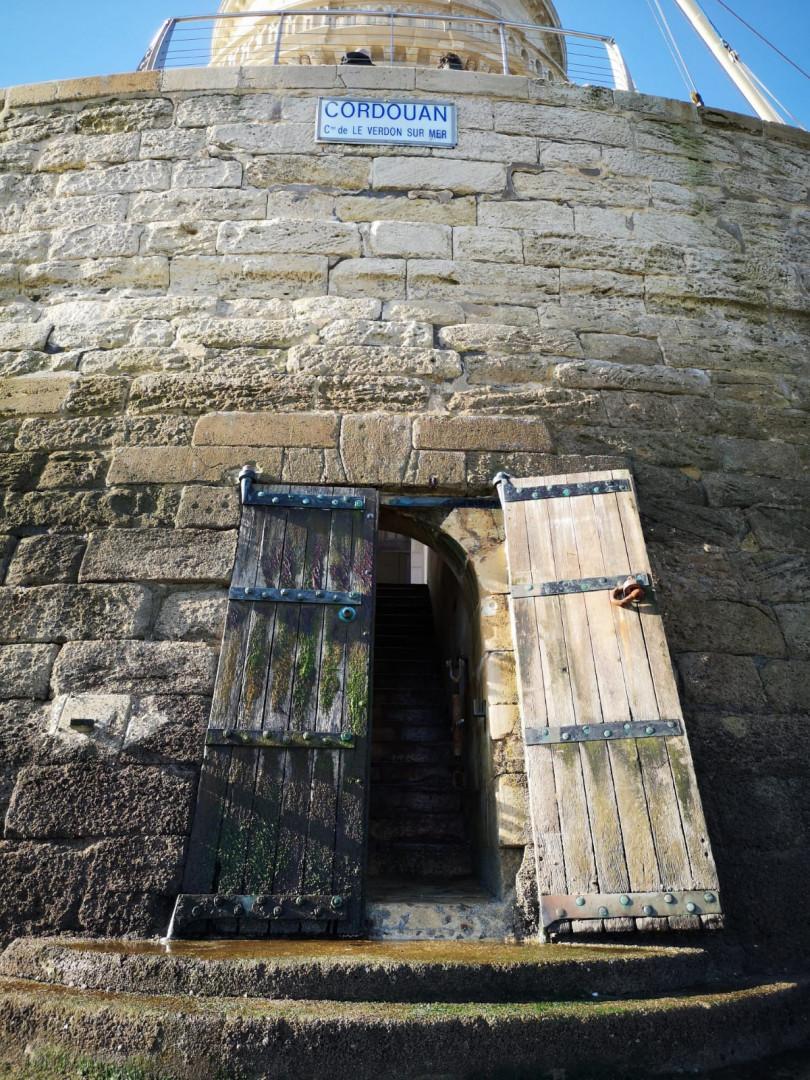 La porte du phare de Cordouan