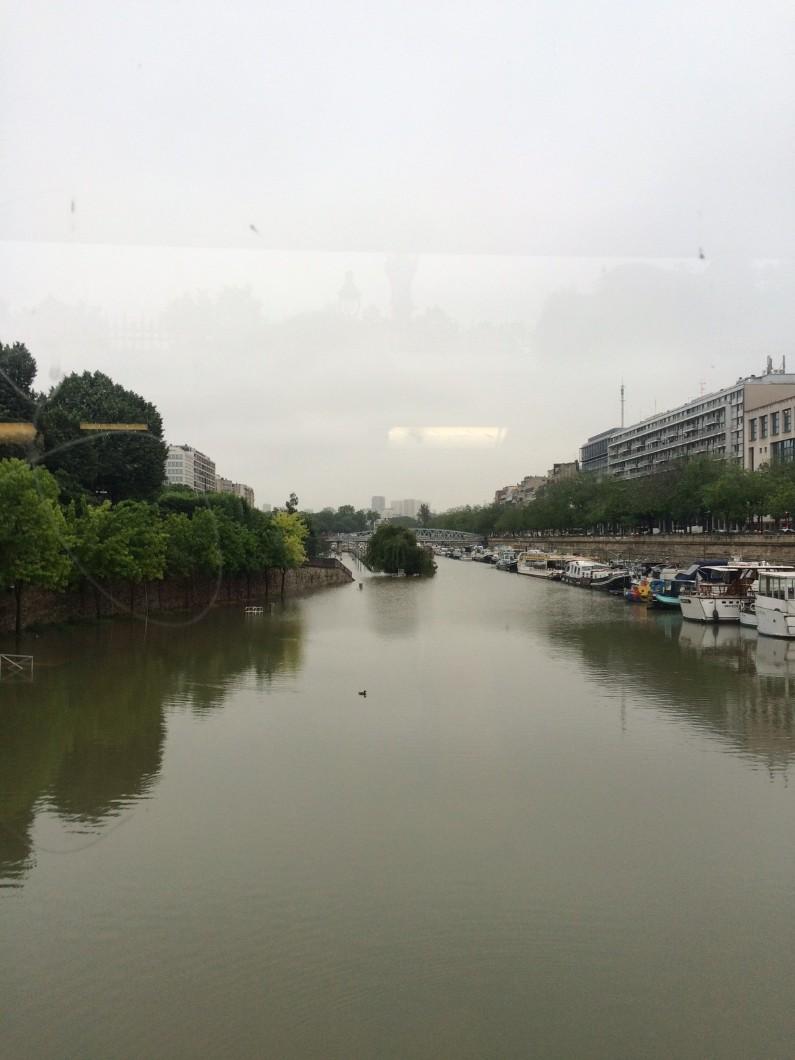 Les quais de Seine à Paris le 2 juin 2016