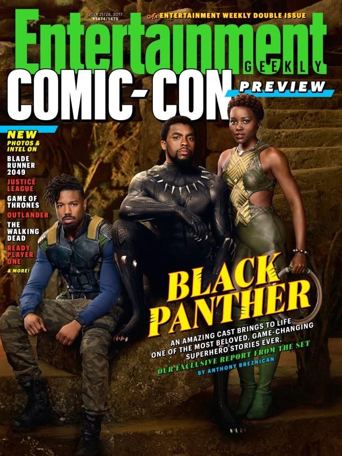 La couverture d'Entertainment Weekly