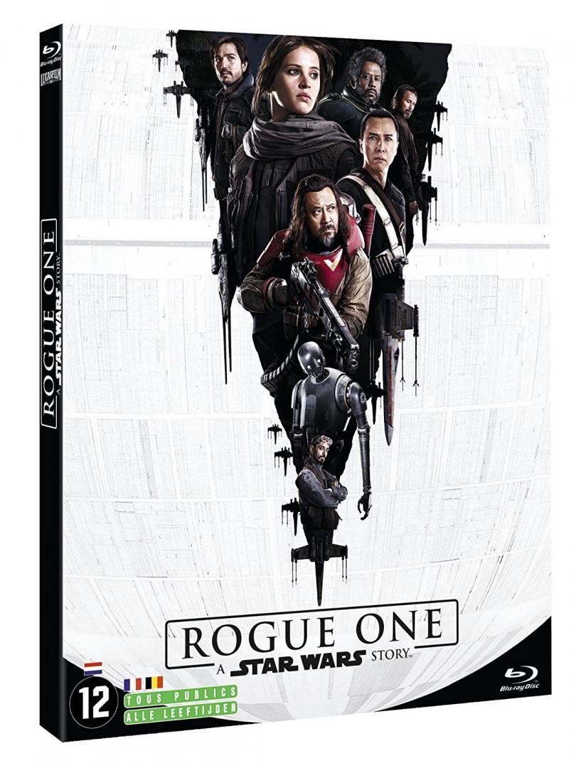 """""""Rogue One : a Star Wars Story"""" pour découvrir ou redécouvrir le film qui complète la première trilogie (15€)"""