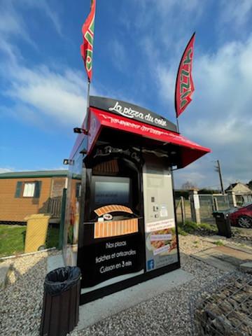 """Le distributeur de pizza """"La pizza du coin"""" dans l'Eure"""