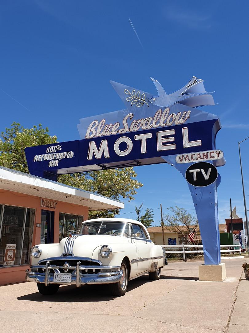 Route 66  :  Tucumcari (Nouveau-Mexique)