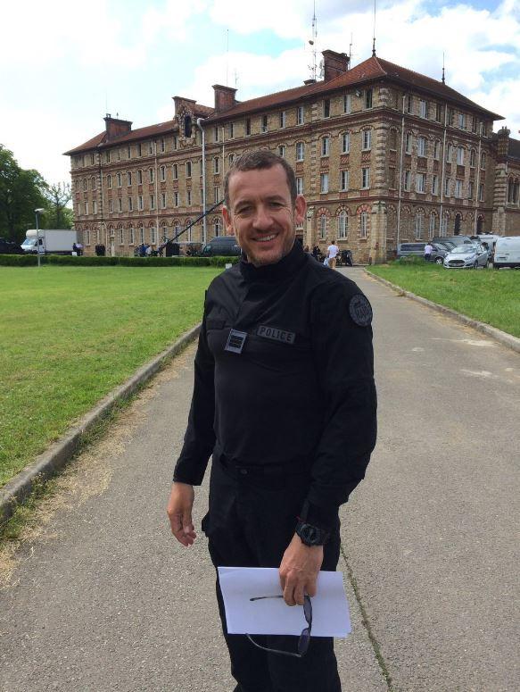 Dany Boon en tenue sur le tournage