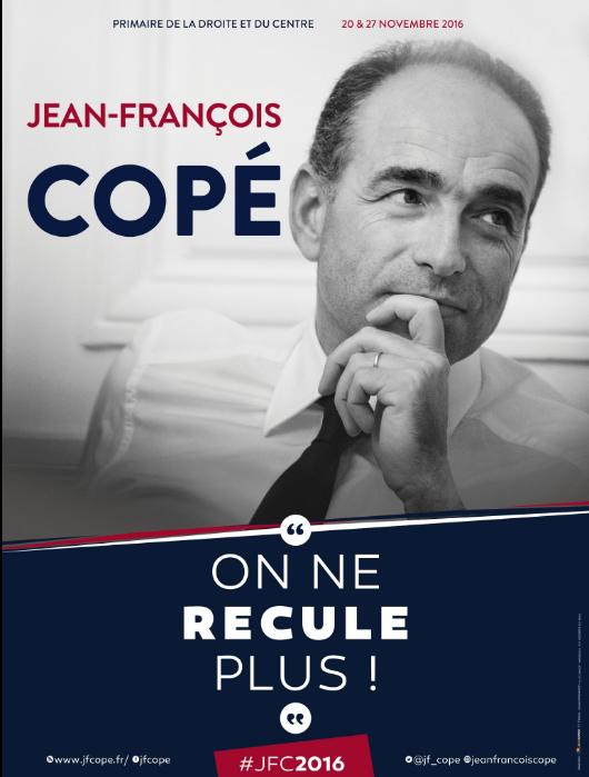 L'affiche de campagne de Jean-François Copé