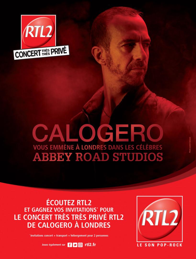 Calogero en Concert Très Très Privé dans les studios d'Abbey Road à Londres