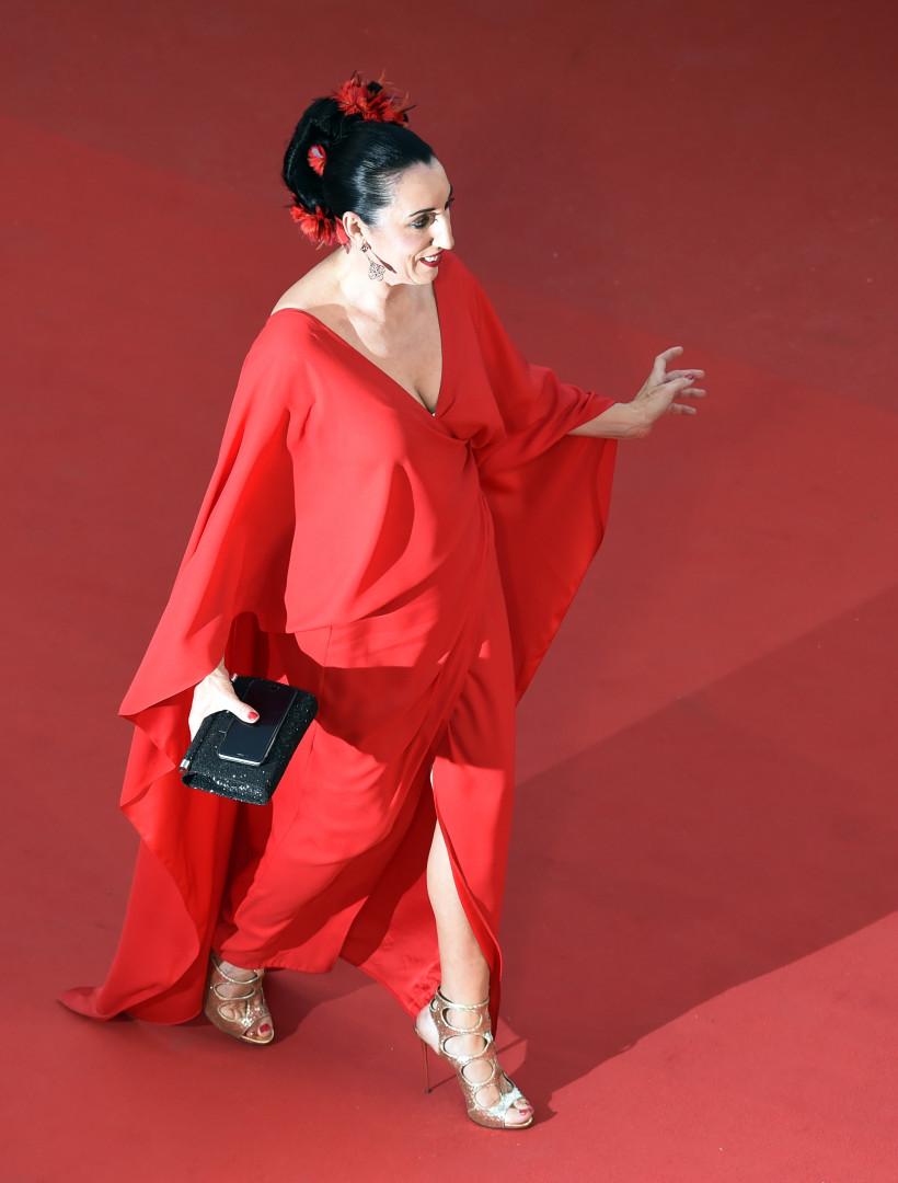Rossy de Palma, actrice espagnole, membre du jury lors de ce 68e festival