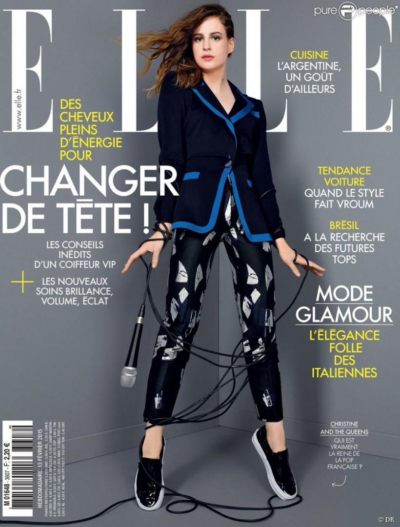 """Christine and the Queens, la couverture polémique de """"Elle"""" en 2015"""