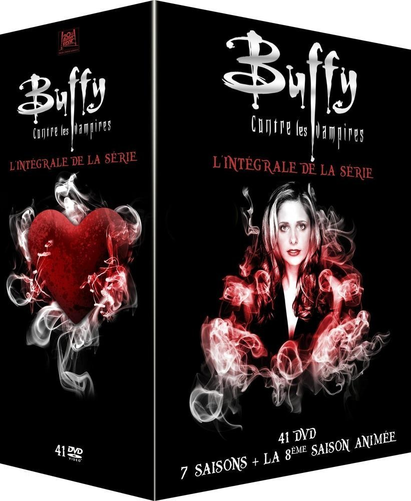 """L'intégrale de """"Buffy"""", série culte et indispensable qui fête ses 25 ans de création en 2017 (52€)"""