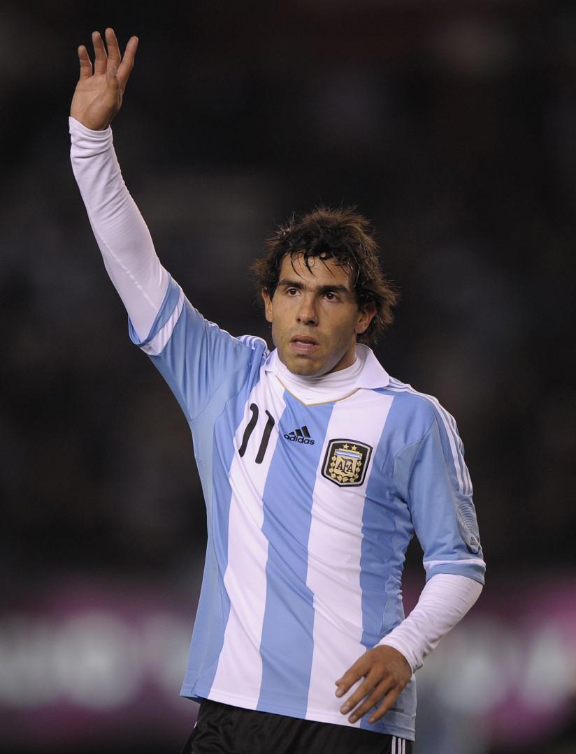 Carlos Tevez, dit l'Apache, disputera sa première compétition majeure depuis la Copa America 2011