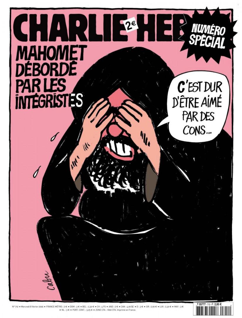 La Une qui avait valu a Charlie Hebdo les foudres des intégristes