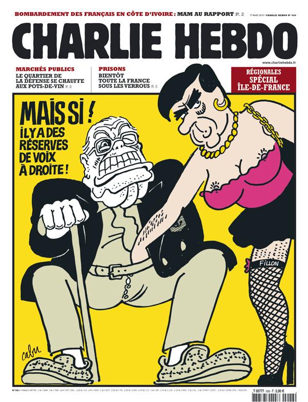 C'est à Charlie Hebdo que Cabu connait la gloire