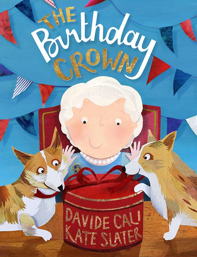 """""""The Birthday Crown"""" met en scène la reine Elizabeth II, le prince George et la princesse Charlotte"""