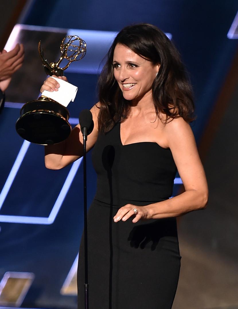 """Julia Louis-Dreyfus a été sacrée meilleure actrice principale dans une série comique pour """"Veep"""""""