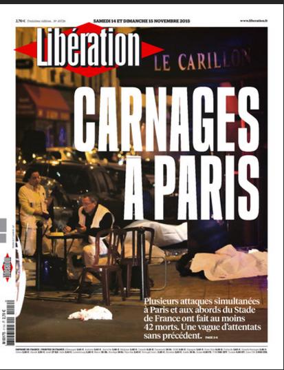 """""""Libération"""" parle de carnages"""