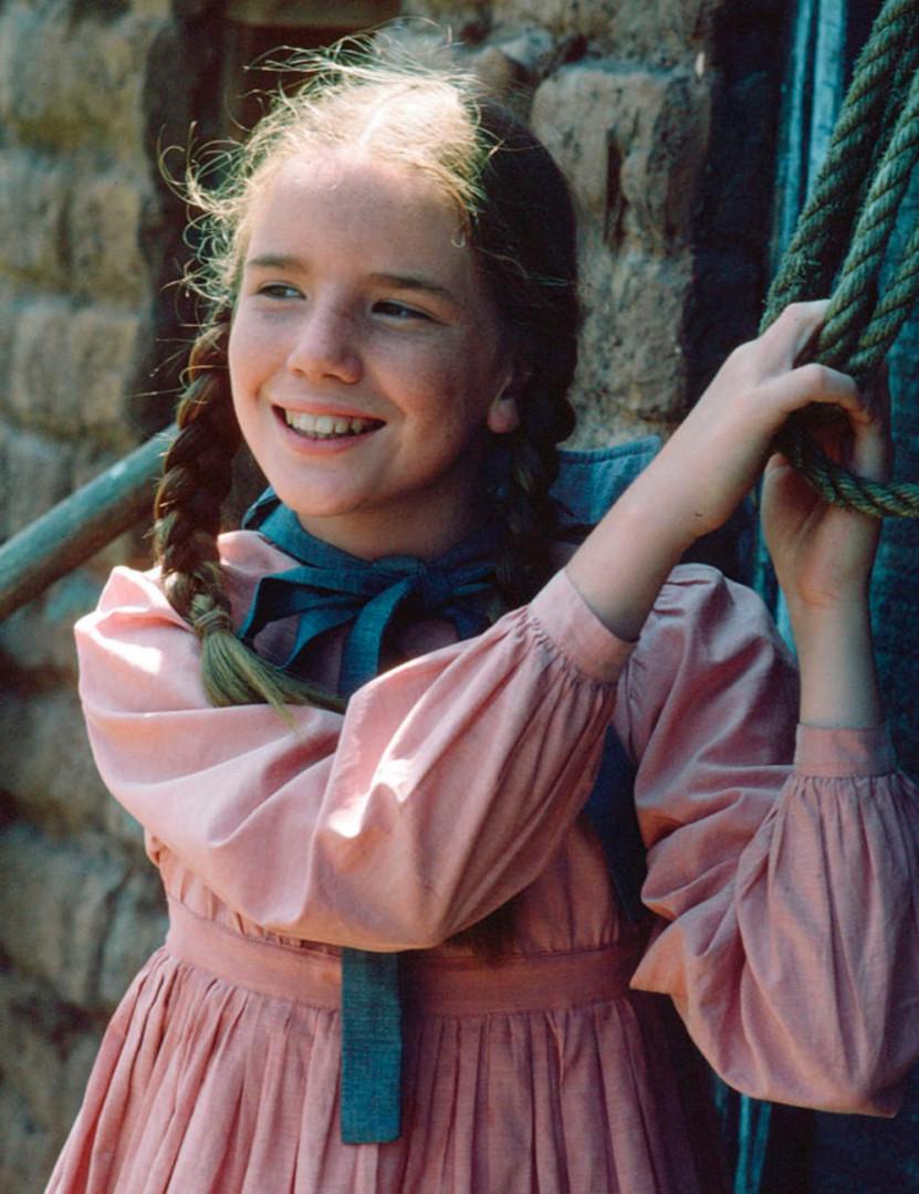 Laura Ingalls était la petite espiègle de la famille