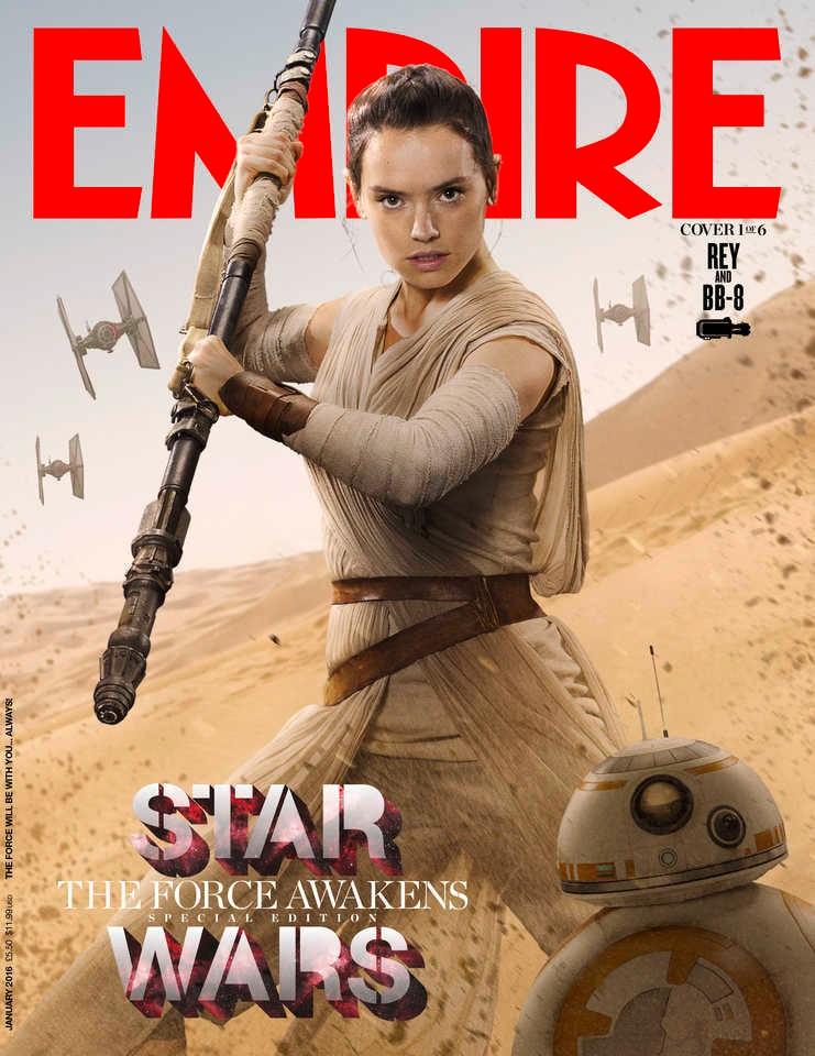 Rey est l'une des héroïnes principales.