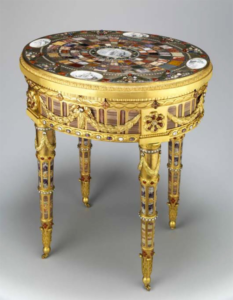 La Table de Breteuil également appelée la Table de Teschen