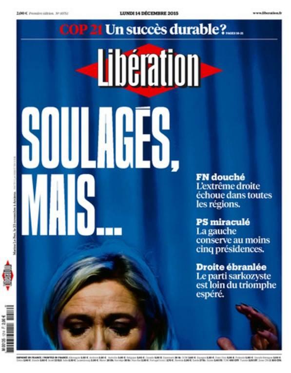Libération est soulagé mais reste prudent