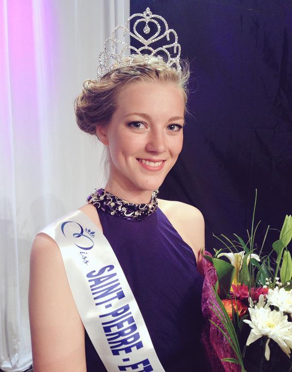 Miss Saint-Pierre-et-Miquelon se nomme Julie Briard, étudiante en pharmacie