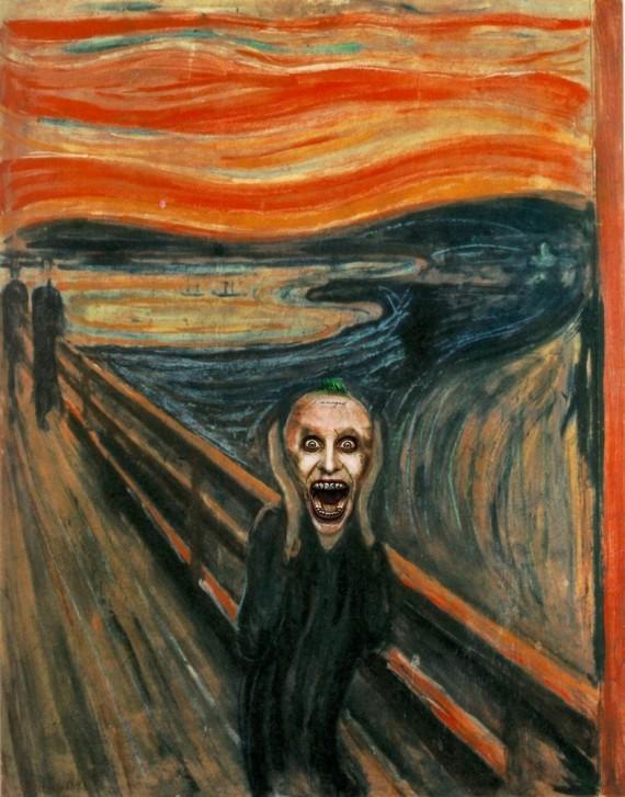 """Dans le tableau """"Le Cri"""" d'Edvard Munch"""