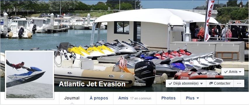 Likez le Facebook d'Atlantic Jet Evasion