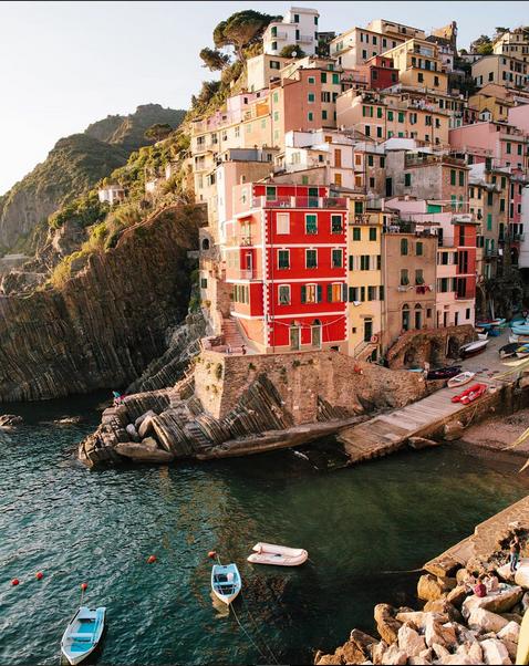 Riomaggiore dans les Cinque Terre, Italie